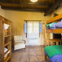 El Brazal. Litera (Dormitorio para 4) Nogal