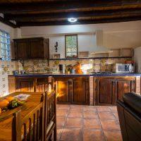 El Brazal. Salón-Cocina Nogal